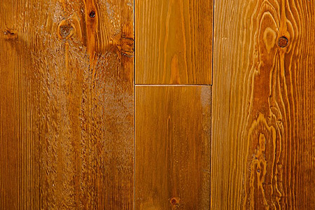 Image showing colour of rusic pine flooring - Rustic Autumn Pine